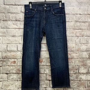 7 For All Mankind Mens Austyn Straight Leg  32x27